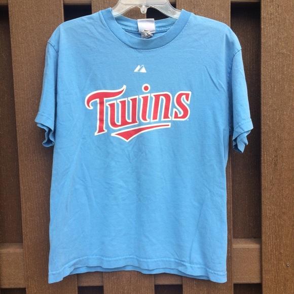 62228d0c456 Majestic Shirts & Tops | Minnesota Twins Mauer Tshirt | Poshmark